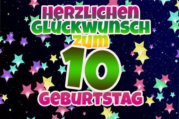 Partytimmung zum 10. Geburtstag