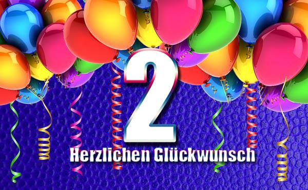 Party zum 2. Geburtstag