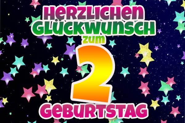 Sprüche Und Wünsche Für Karten Zum 2 Geburtstag