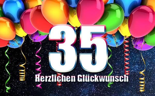 Facebook Bild zum 35. Geburtstag