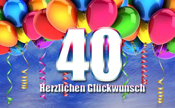 Party zum 40. Geburtstag Bild