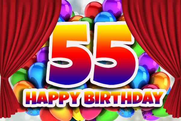 WhatsApp Glückwünsche zum 55. Geburtstag