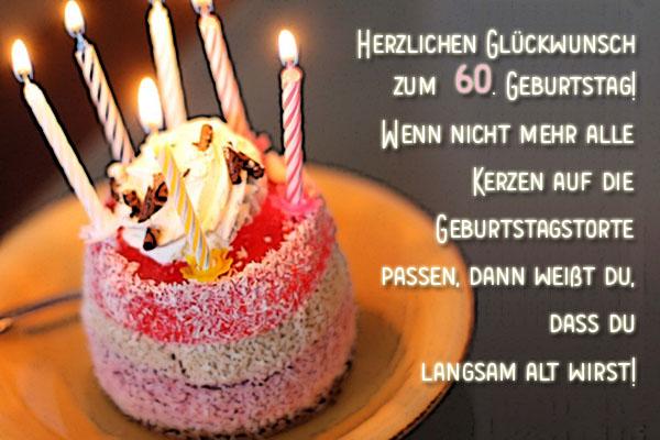 Facebook Gruß zum 60. Geburtstag