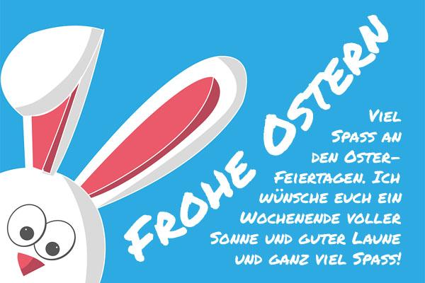 Frohr Ostern wünschen
