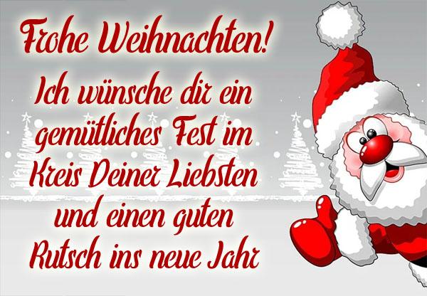 Frohe Weihnachten und ein guter Rutsch
