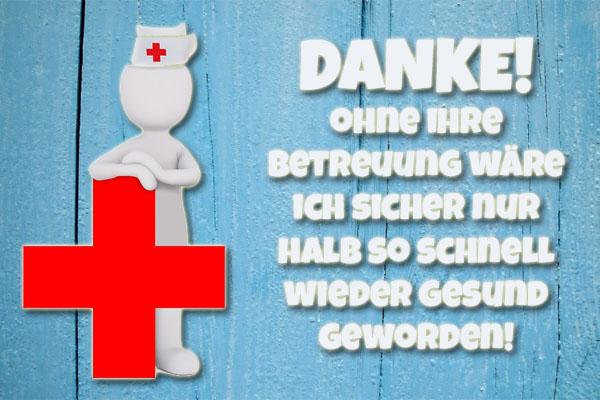 Texte Und Bilder Als Danksagung Für Krankenschwestern