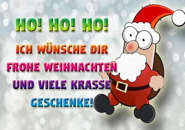 Witziger Weihnachtsmann für Jugendliche