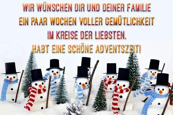 WhatsApp Grüße Adventszeit