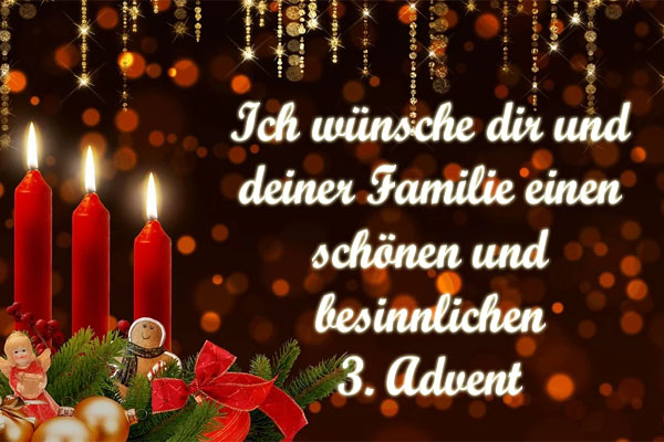 Adventsgrüße zum 3. Advent