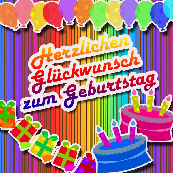 Geburtstagsparty Grüße per WhatsApp